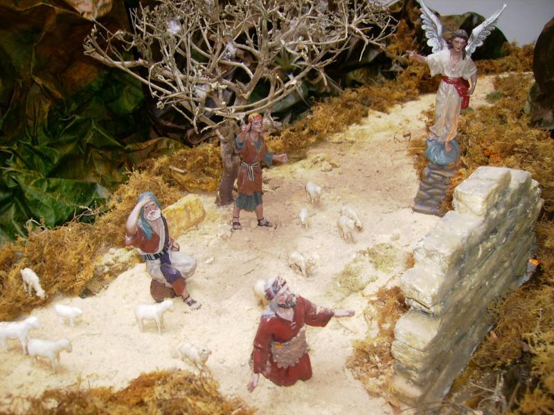 Anunciacion a los Pastores. Belén de Ana Myrian Iragorri Sanchez (Popayan)