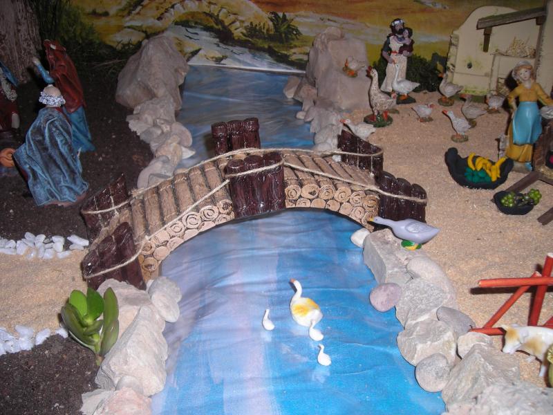 puente sobre el rio. Belén de Ana Sanchis