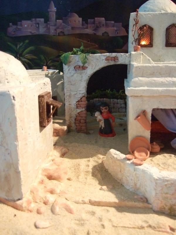 Arco. Belén de Associação Cultural Fusetense (Fuseta, Algarve)