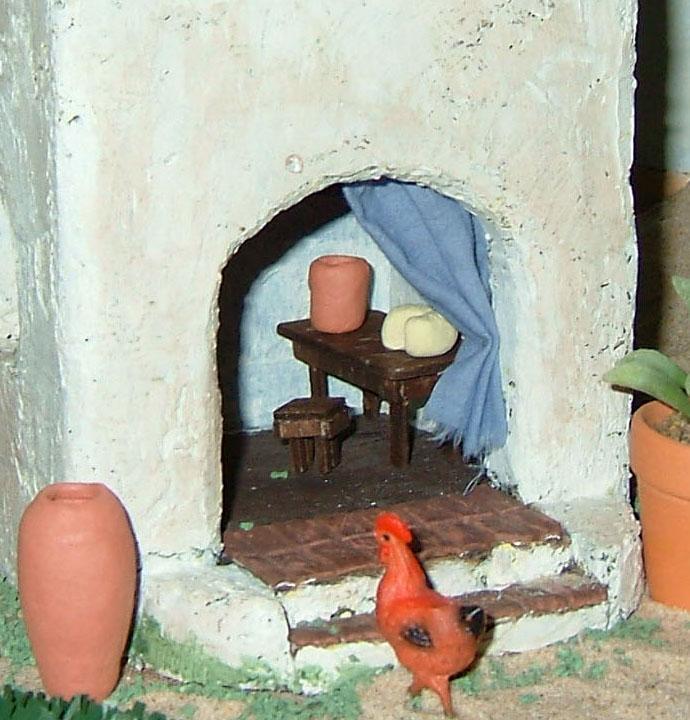 Interior. Belén de Associação Cultural Fusetense (Fuseta, Algarve)
