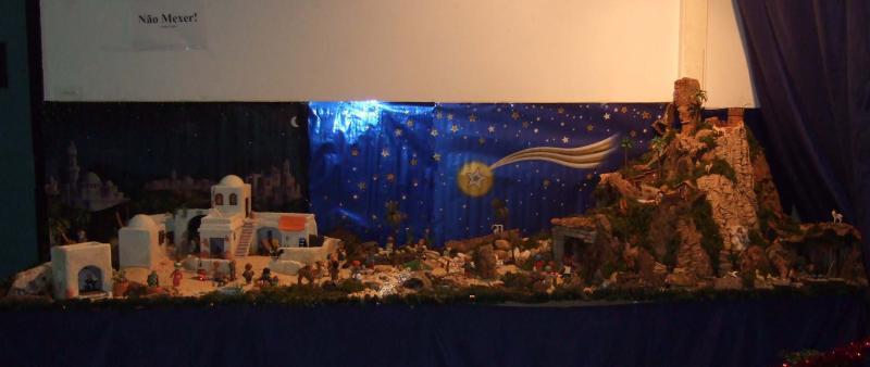 Vista geral 2. Belén de Associação Cultural Fusetense (Fuseta, Algarve)