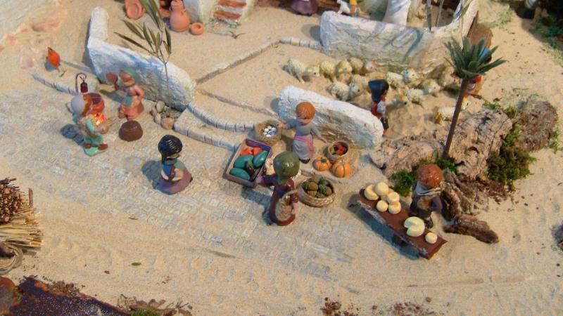 Mercado 1. Belén de Beatriz (Fuseta, Algarve)