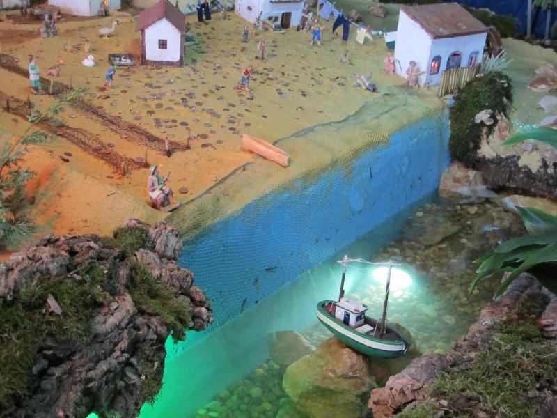 13 barco. Belén de Bombeiros Voluntarios Faro (Faro)