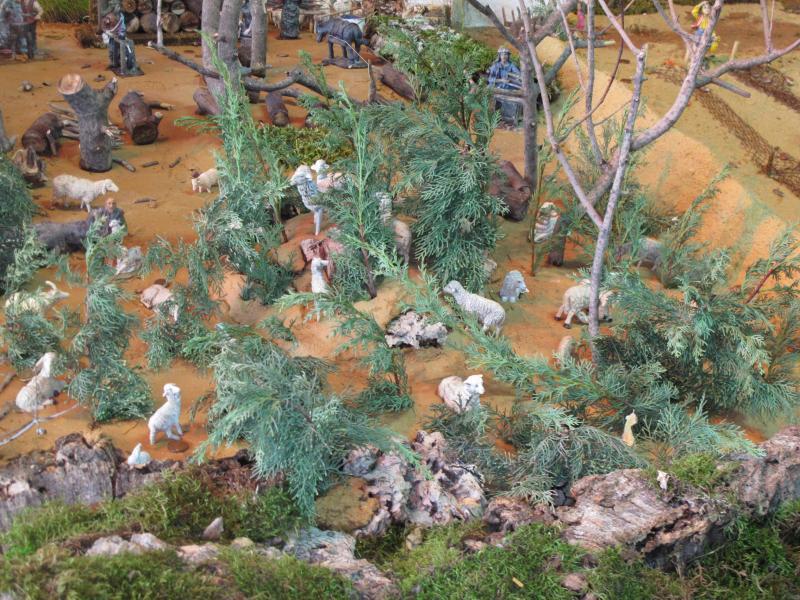 10 ovelhas . Belén de Bombeiros Voluntarios Faro (Faro)