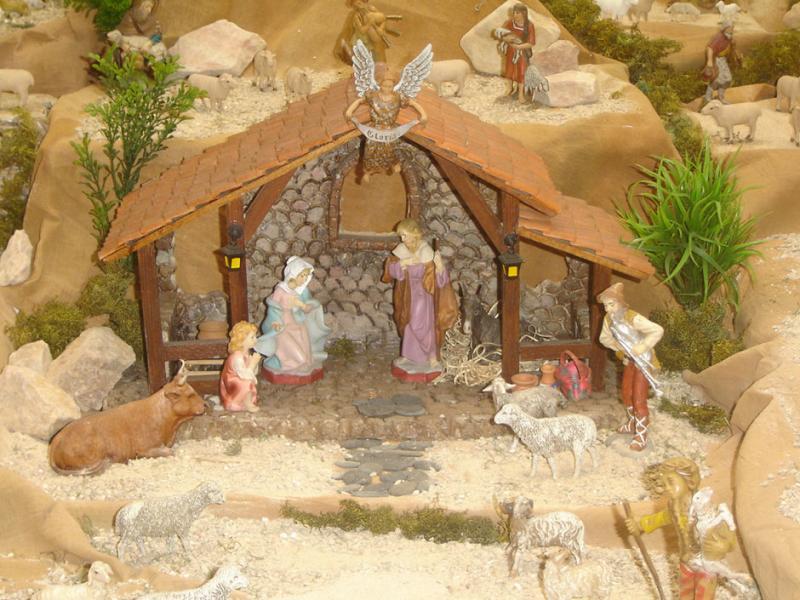 Portal pesebre familia fernandez ortiz 02 bel n de for Cosas artesanales para navidad