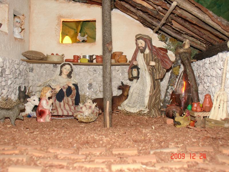 Sagrada Familia. Belén de Carla Carrión (Loja - Ecuador)