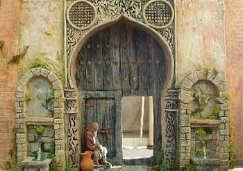 puerta. Belén de Carlos Marcos