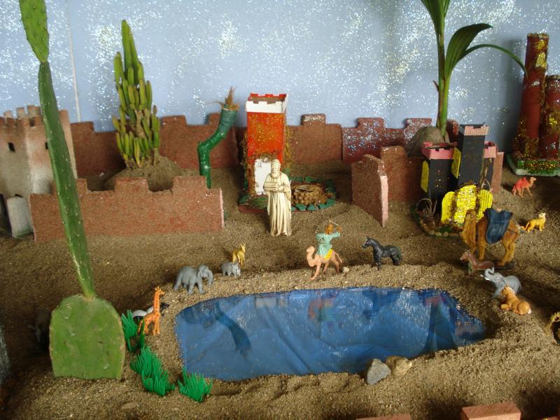 El Oasis en el Desierto. Belén de carlos alberto jaramillo (Coclé - Panamá)