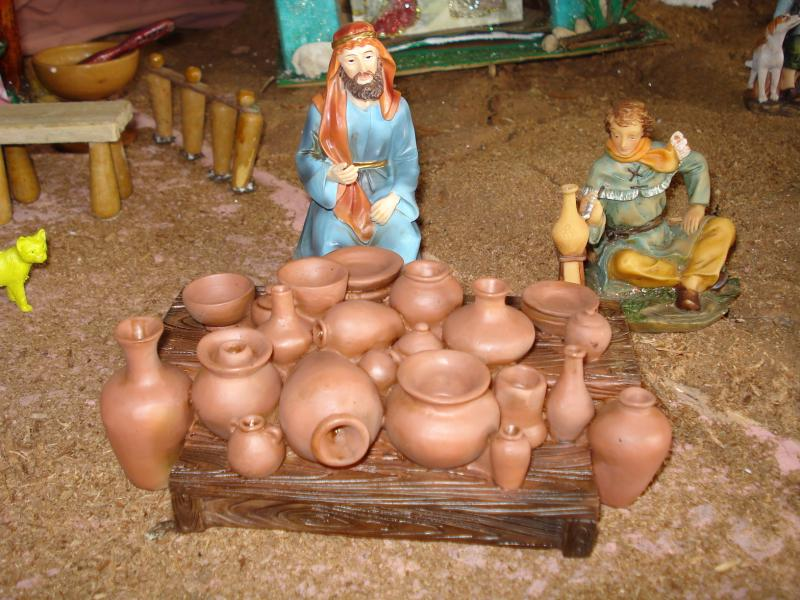 Vendedor de Artesanías en el Mercado. Belén de carlos alberto jaramillo (Coclé - Panamá)
