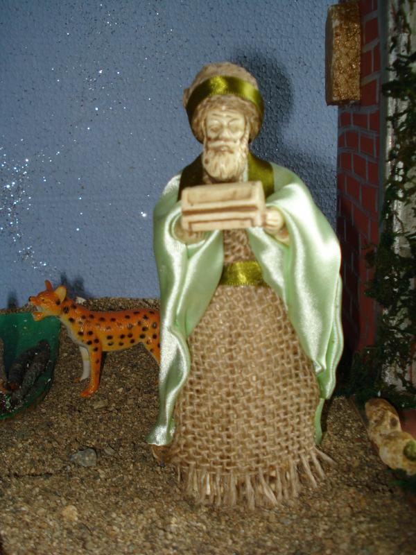 Rey Mago. Belén de carlos alberto jaramillo (Coclé - Panamá)