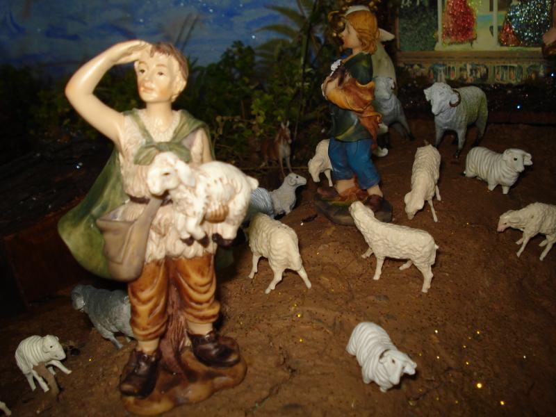 Pastores con su Rebaño. Belén de carlos alberto jaramillo (Coclé - Panamá)