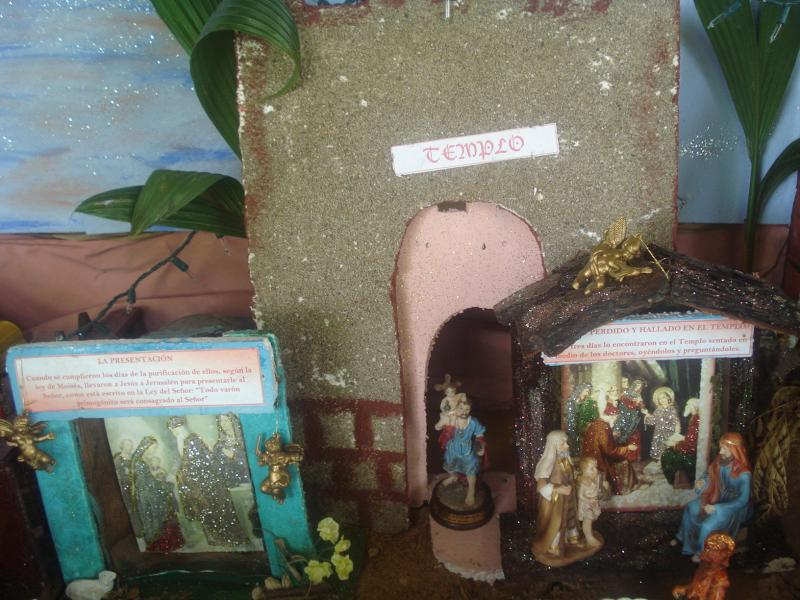 El Templo. Belén de carlos alberto jaramillo (Coclé - Panamá)