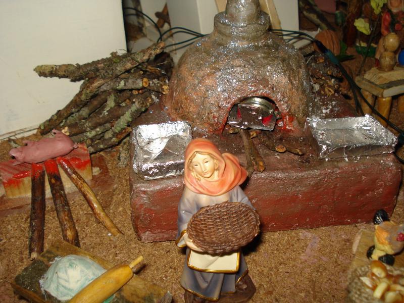 Horno en el Mercado. Belén de carlos alberto jaramillo (Coclé - Panamá)