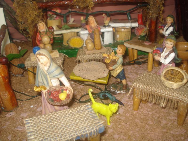 Actividad en el Mercado. Belén de carlos alberto jaramillo (Coclé - Panamá)