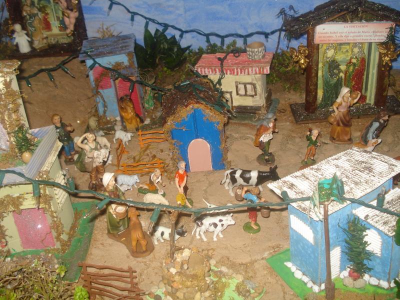 Aldeanos camino al Pesebre. Belén de carlos alberto jaramillo (Coclé - Panamá)