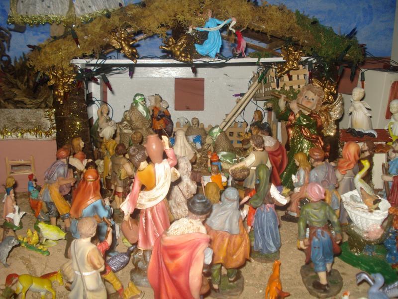 De todos los pueblos fueron a adorar al Niño Jesús. Belén de carlos alberto jaramillo (Coclé - Panamá)