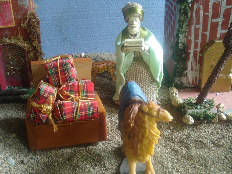 Regalos para el Niño Jesús. Belén de carlos alberto jaramillo (Coclé - Panamá)