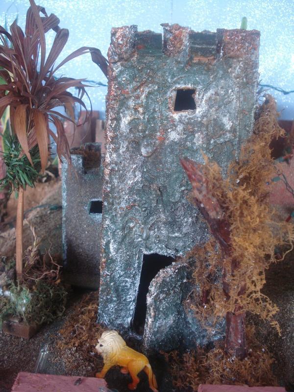 Castillo en el Desierto. Belén de carlos alberto jaramillo (Coclé - Panamá)