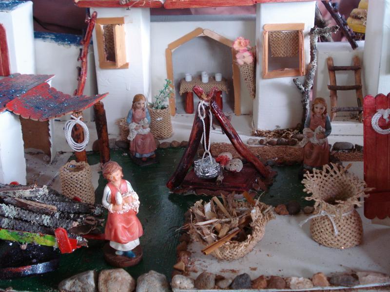 Costureras en la Posada. Belén de carlos alberto jaramillo (Coclé - Panamá)