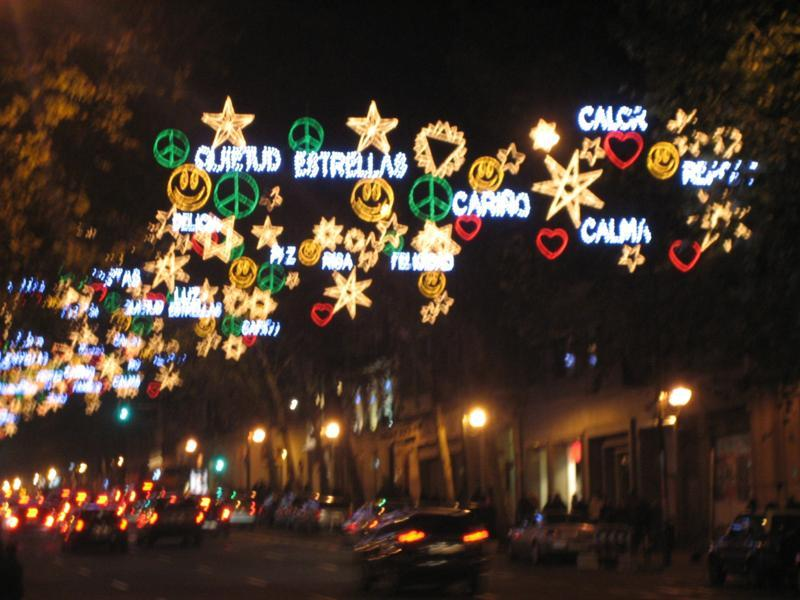 Calle Velazquez. Navidad 2009 en Madrid