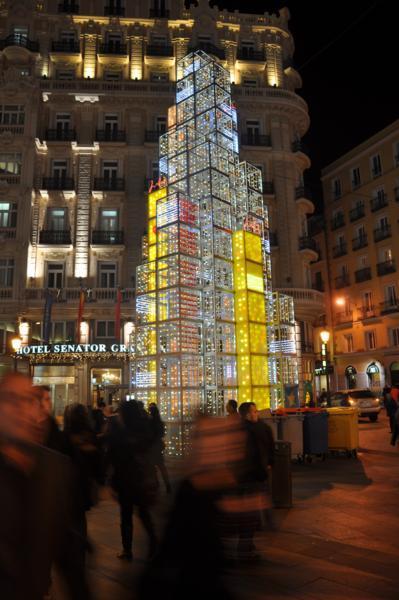 Red de San Luis. Navidad 2009 en Madrid