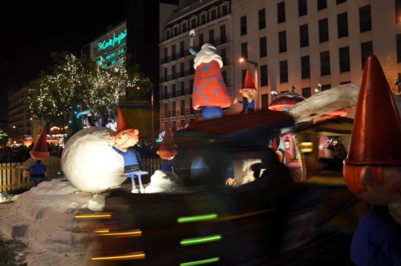 Cortilandia Goya. Navidad 2009 en Madrid