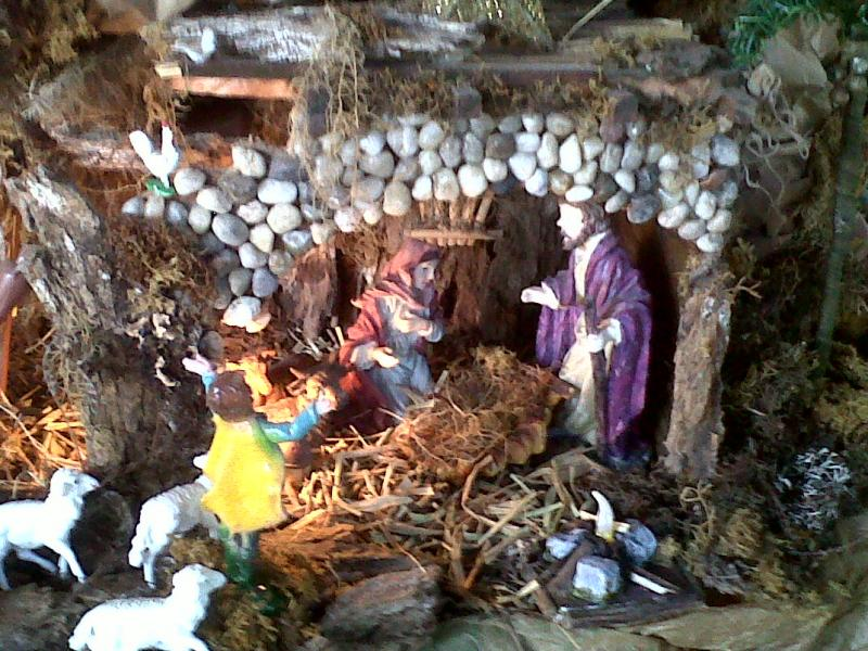 La Sagrada Familia.. Belén de Cristhian Castrejón (David, Chiriquí, Panamá)