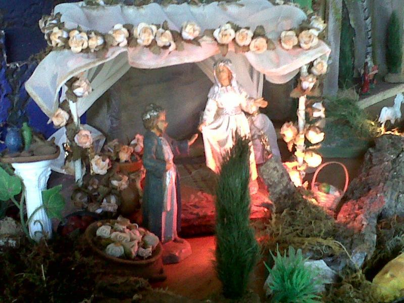 Primer milagro de Jesús. Bodas de Cannan.. Belén de Cristhian Castrejón (David, Chiriquí, Panamá)