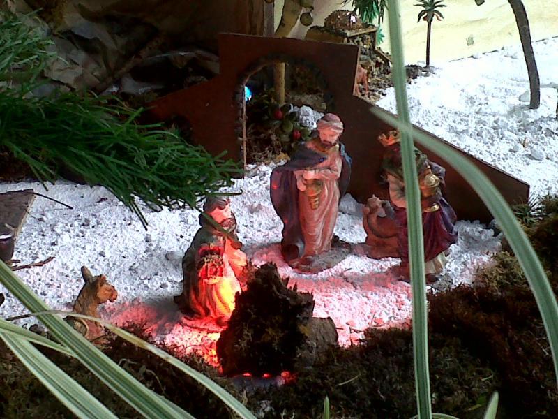 Los Reyes de Oriente.. Belén de Cristhian Castrejón (David, Chiriquí, Panamá)