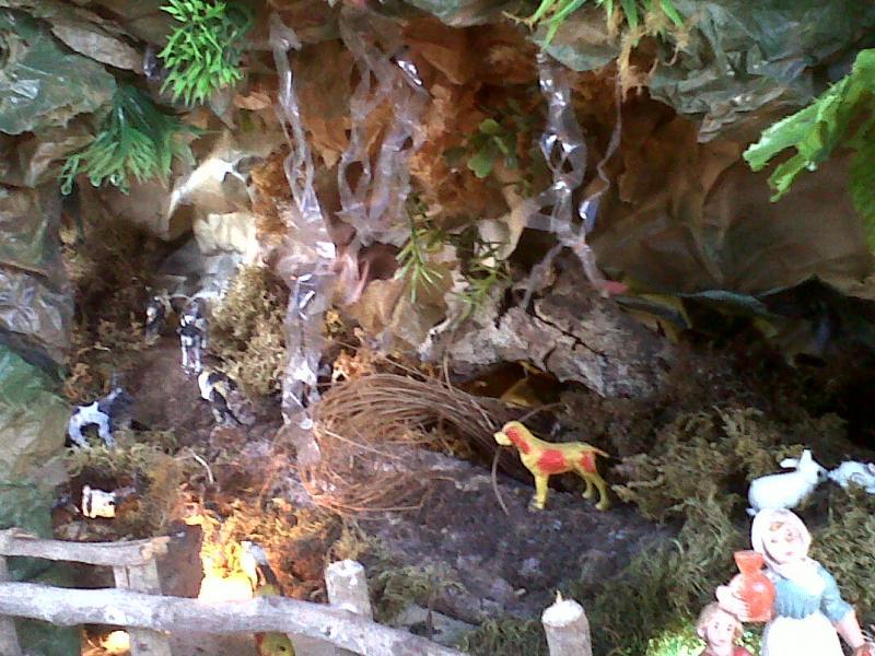 Cueva de la Anunciación.. Belén de Cristhian Castrejón (David, Chiriquí, Panamá)