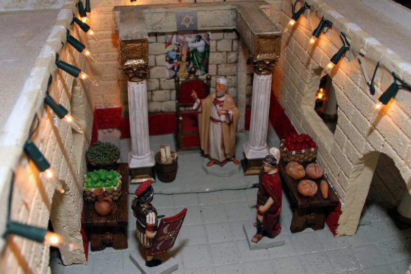 Palacio de Herodes 3. Belén de Fidel Ottati (Santo Domingo)