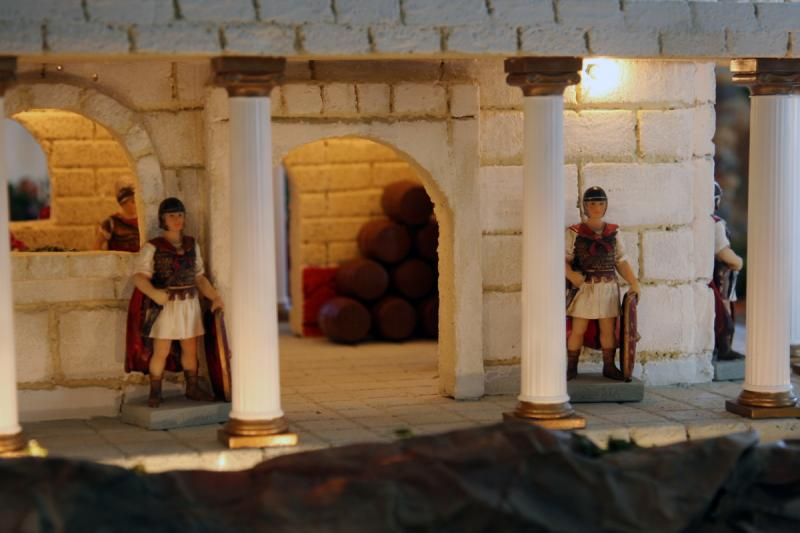 Palacio de Herodes 4. Belén de Fidel Ottati (Santo Domingo)