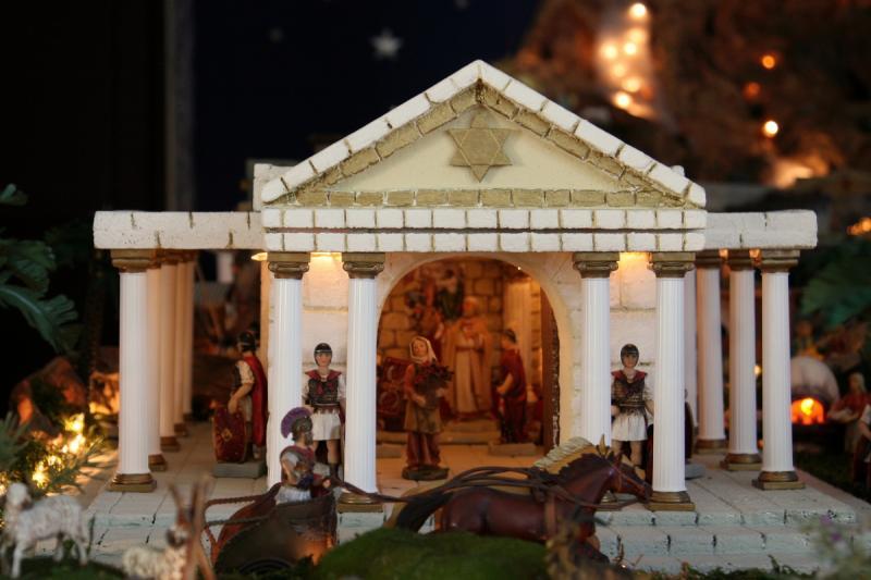 Palacio de  Herodes 2. Belén de Fidel Ottati (Santo Domingo)