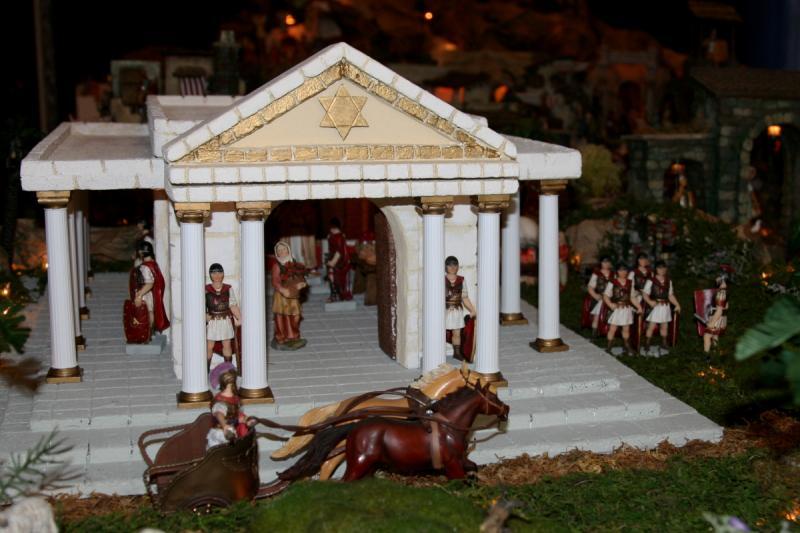 Palacio de Herodes 1. Belén de Fidel Ottati (Santo Domingo)