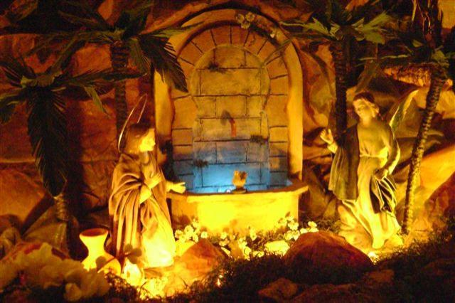 Anunciación a la Virgen. Belén de Carlos (Panama)