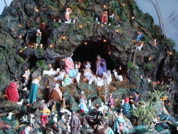 Sagrada familia. Belén de xtian (Arequipa)