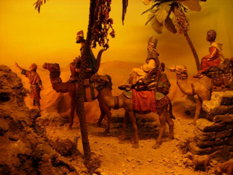 Orlando Alvarez-La caravana de los Reyes. Belén de Corporacion de Pesebristas de Popayan (Popayan)
