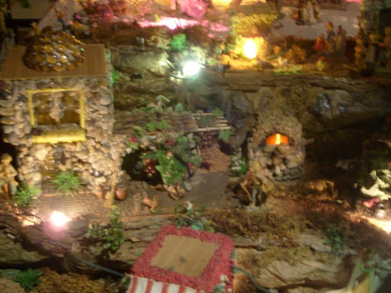 Casa de las uvas y el Horno de Panes.. Belén de Cristhian Castrejón (David, Chiriquí)