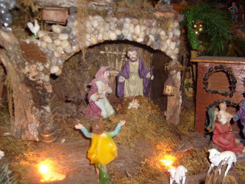 Nacimiento de Jesús...  a nuestro Angel Guardián. Belén de Cristhian Castrejón (David, Chiriquí)