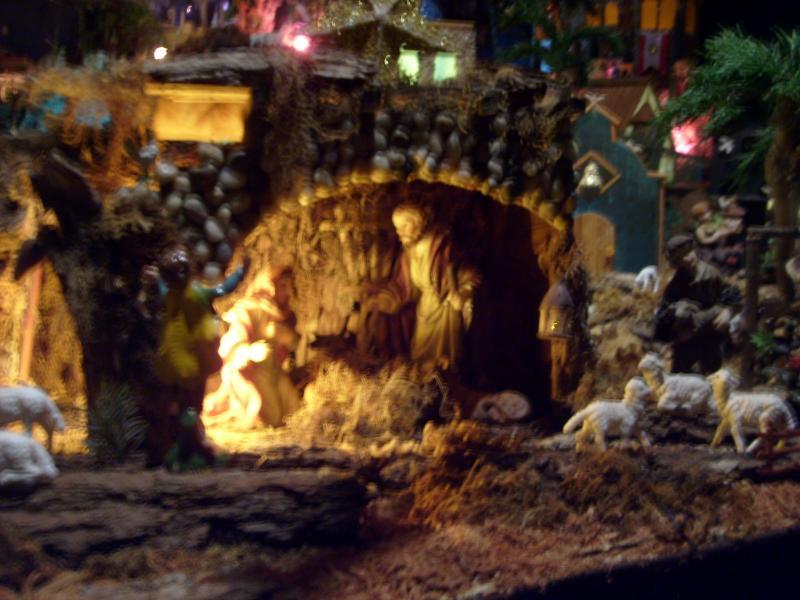 El Nacimiento de Jesús. Belén de Cristhian Castrejón (David, Chiriquí)