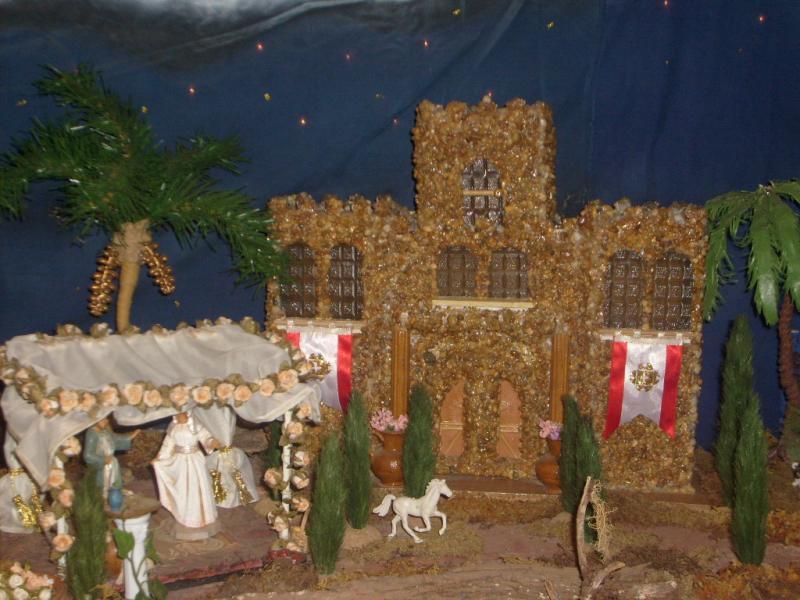 El Templo de Herodes. Belén de Cristhian Castrejón (David, Chiriquí)