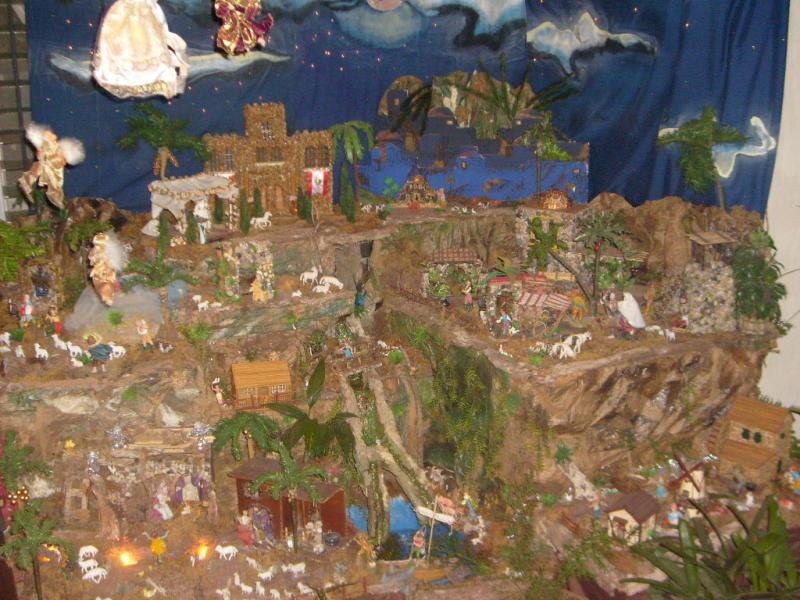 Noche de Paz, Noche de Amor... Belén de Cristhian Castrejón (David, Chiriquí)