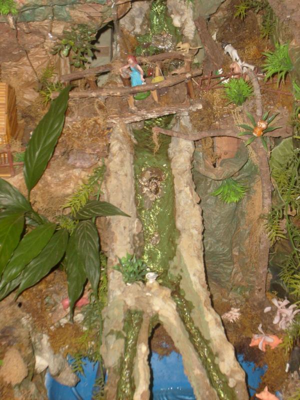 Cascada. Belén de Cristhian Castrejón (David, Chiriquí)