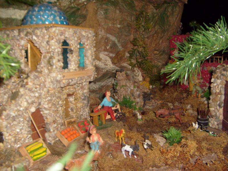 Tipíca escena de la Región. Belén de Cristhian Castrejón (David, Chiriquí)