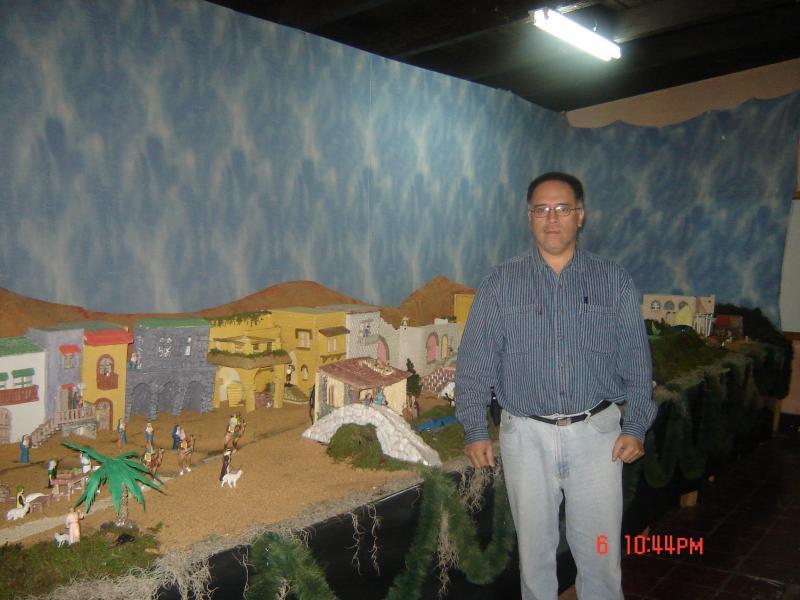 mi nacimiento 2008-2009. Belén de danilo (Guatemala)
