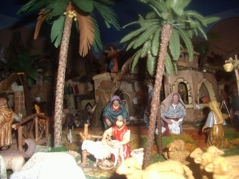Belén Familia Peinado. Belén de David (Sevilla)
