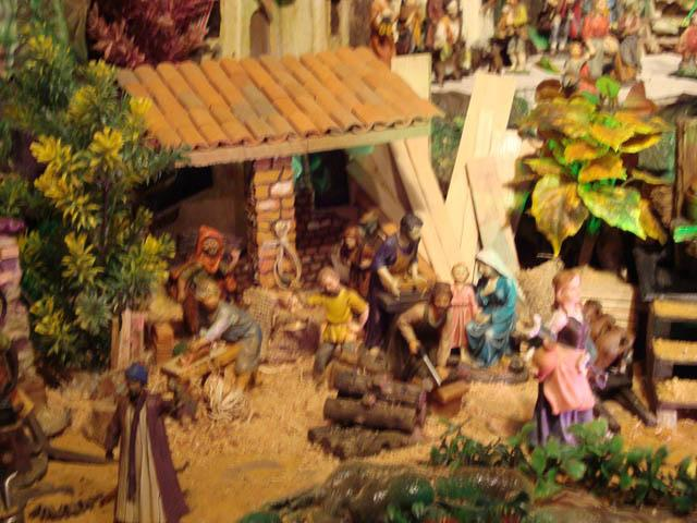 carpinteria. Belén de la familia Jaimes (Bucaramanga)