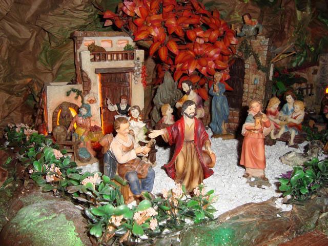 enseñanza. Belén de la familia Jaimes (Bucaramanga)