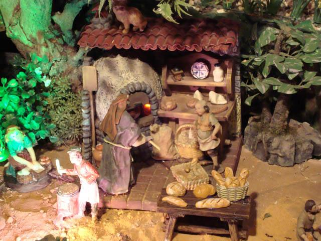panaderia. Belén de la familia Jaimes (Bucaramanga)
