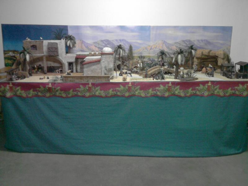 mi belen. Belén de Familia Luque Pruna (San Juan  de Aznalfarache)
